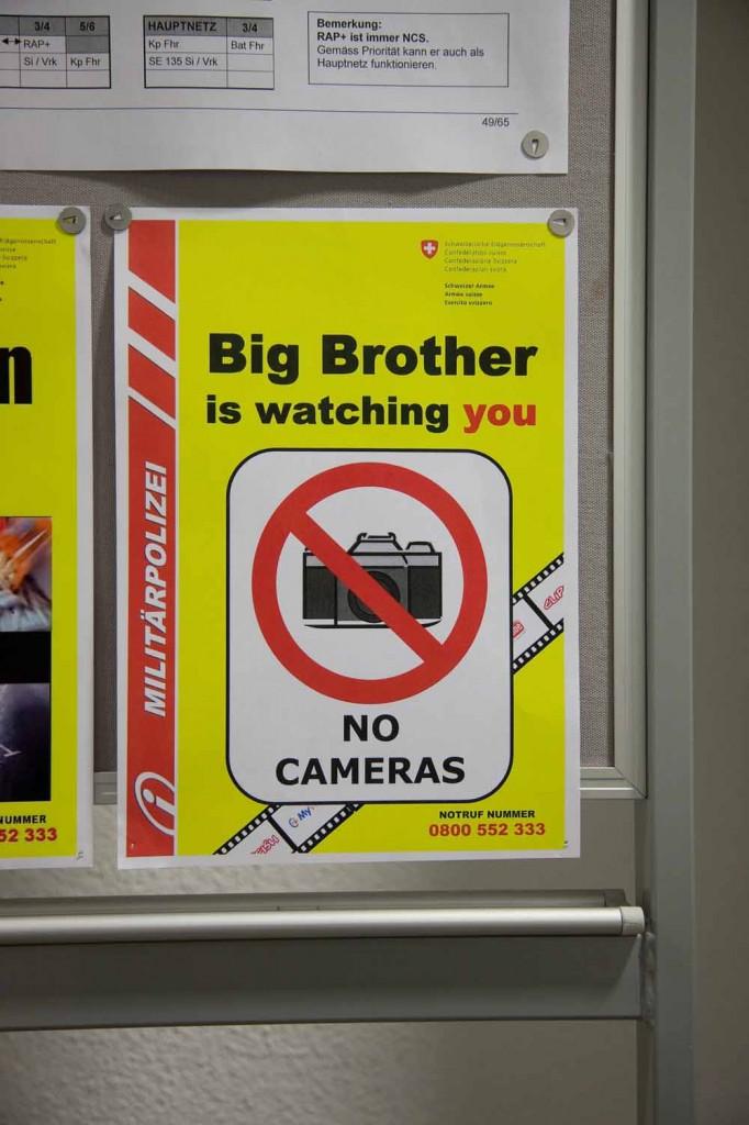 Big Brother Militärpolizei